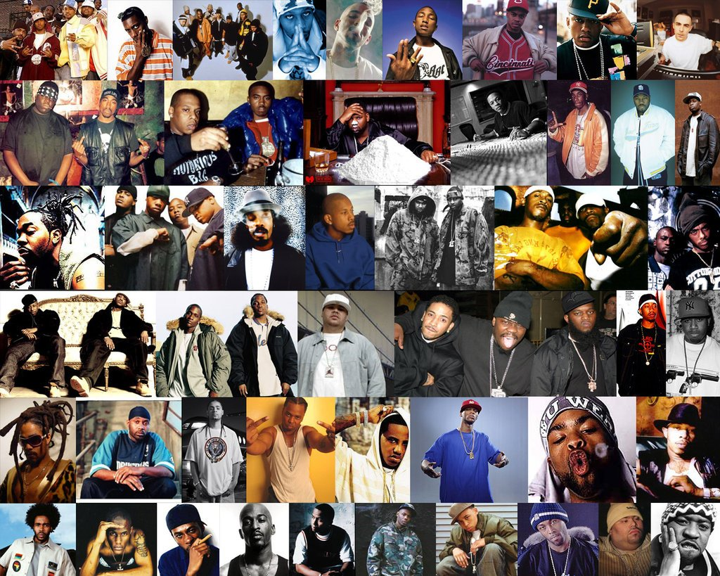 The Greatest Rappers by GodElite 1024x819