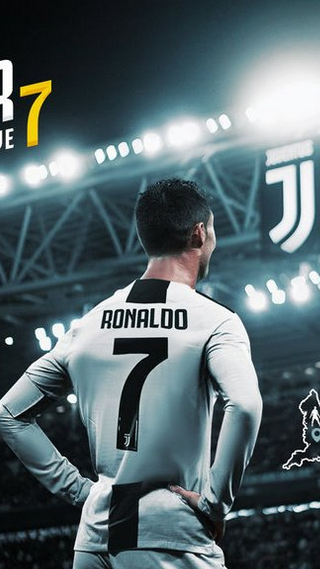 CR7 Juventus iPhone Wallpaper 2020 3D iPhone Wallpaper 1080x1920