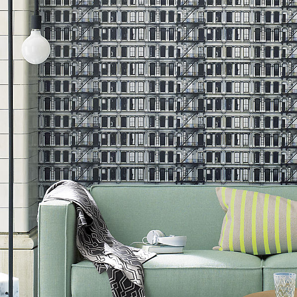 facade self adhesive wallpaper CB2 598x598