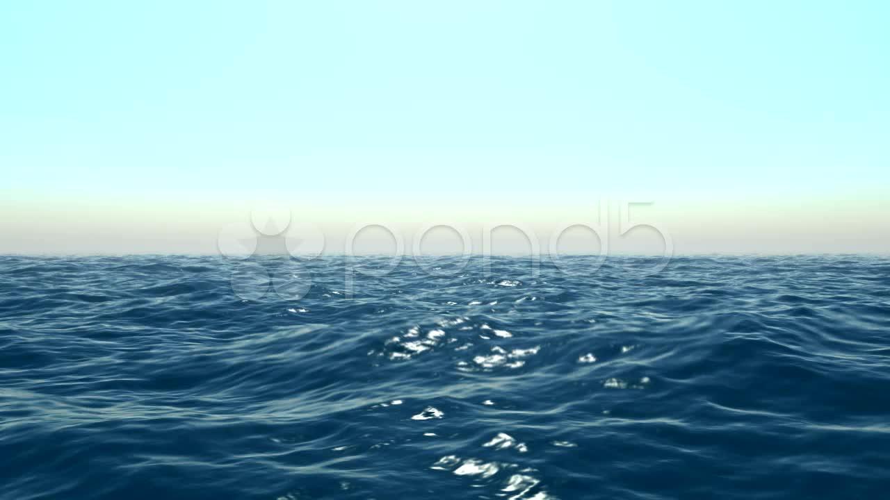 Animated Ocean Waves 1280x720