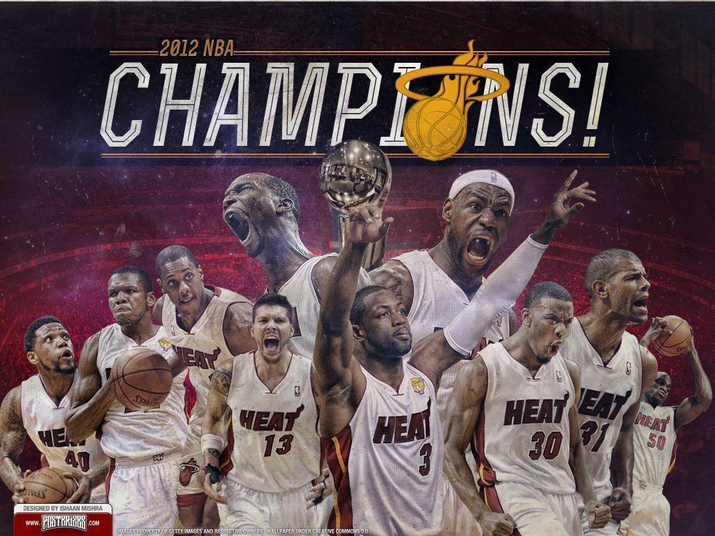 53 Miami Heat Finals Wallpaper On Wallpapersafari