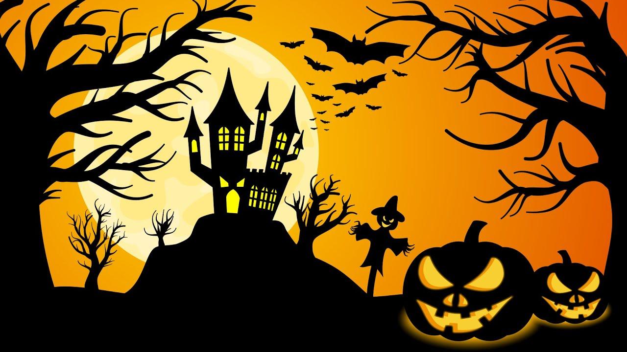 Halloween wallpaper Speedpaint download 1280x720