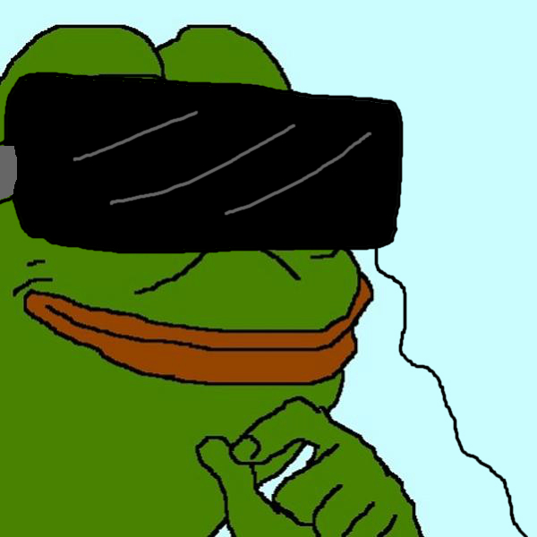 Pepe The Frog Smug Smug pepe the frog virtual 600x600