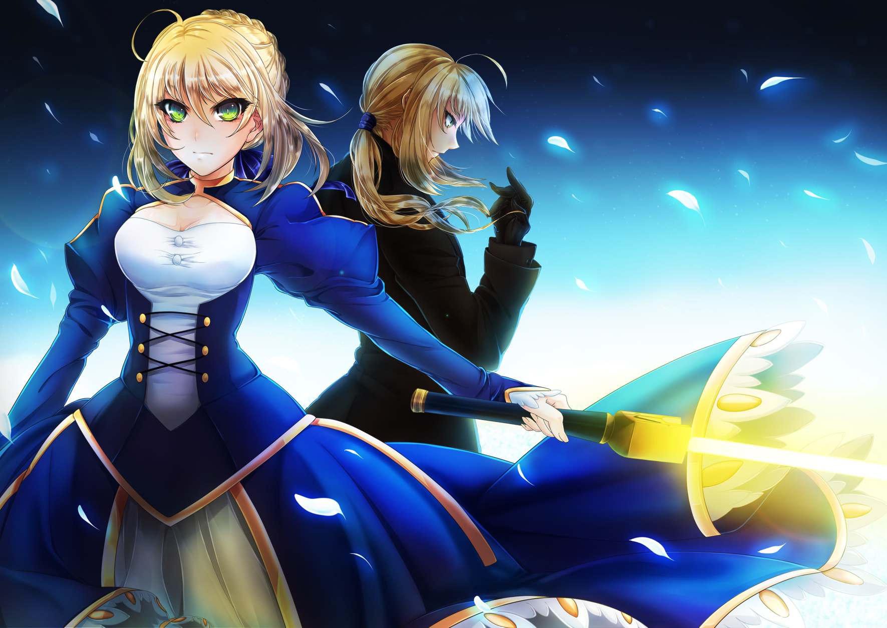 fatestay night fatezero saber konachancom   Konachancom Anime 1771x1254