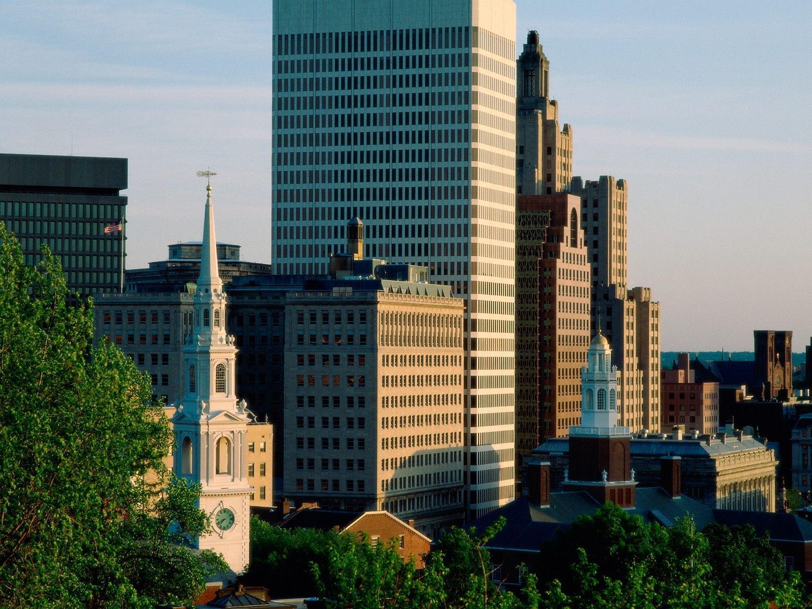 Photos USA Providence Rhode Island Cities Building 1600x1200
