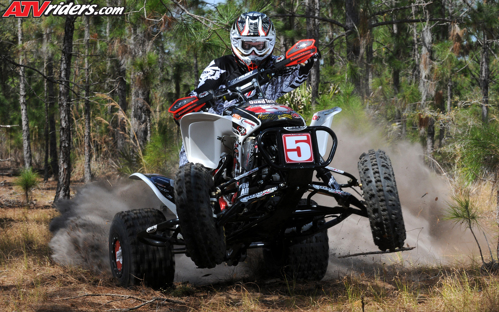 Maxxis Houser Racings Bryan Cook On His Honda 450R   Wednesday 1680x1050