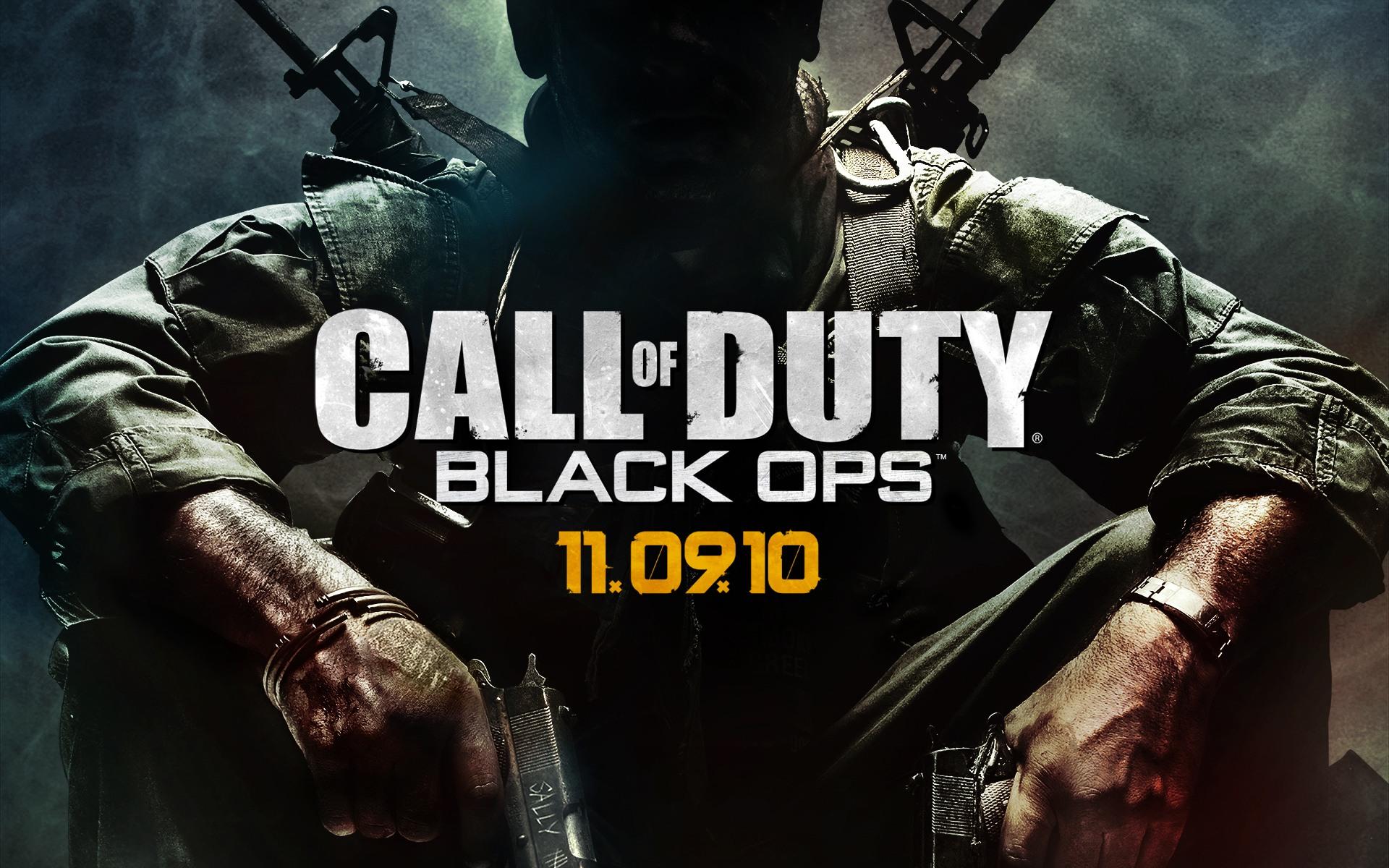Call of Duty Black Ops desktop wallpaper 1920x1200