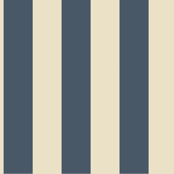 Navy Blue and Beige 3 inch Stripe Wallpaper   Wall Sticker Outlet 600x600