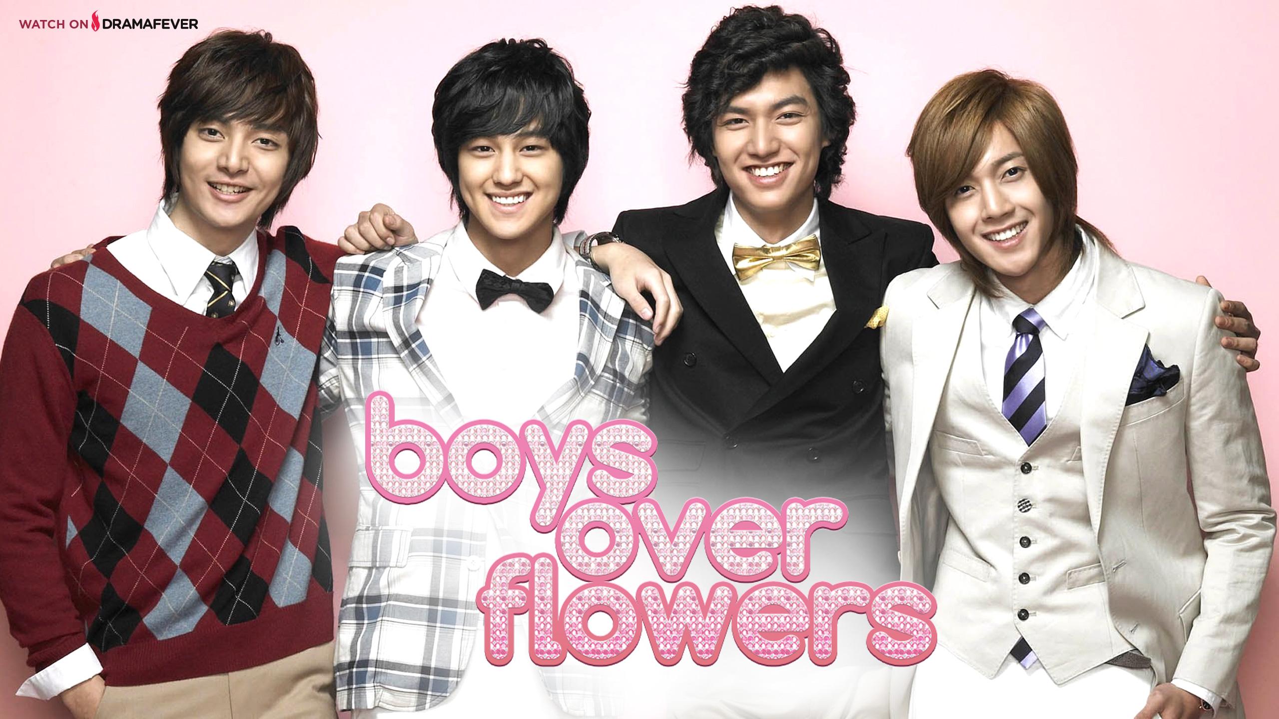 Download Boys Over Flowers wallpapers for your desktop iPhone iPad 2560x1440