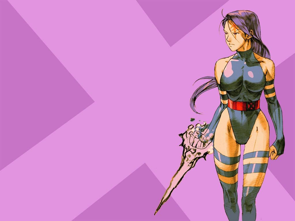 46 psylocke wallpaper hd on wallpapersafari - Female cartoon characters wallpapers ...
