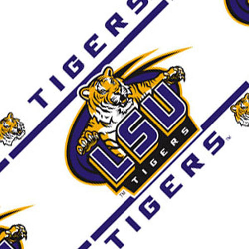 NCAA Louisiana State Tigers Self Stick Wall Border Roll   Contemporary 500x500