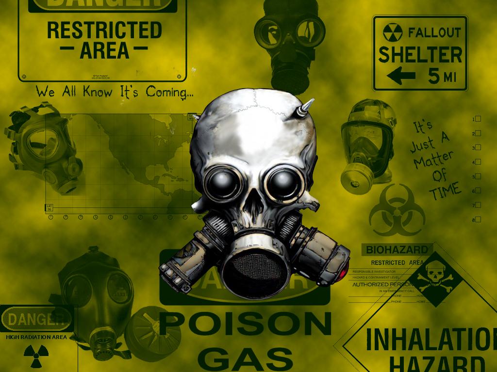48 Cool Gas Mask Wallpapers On Wallpapersafari