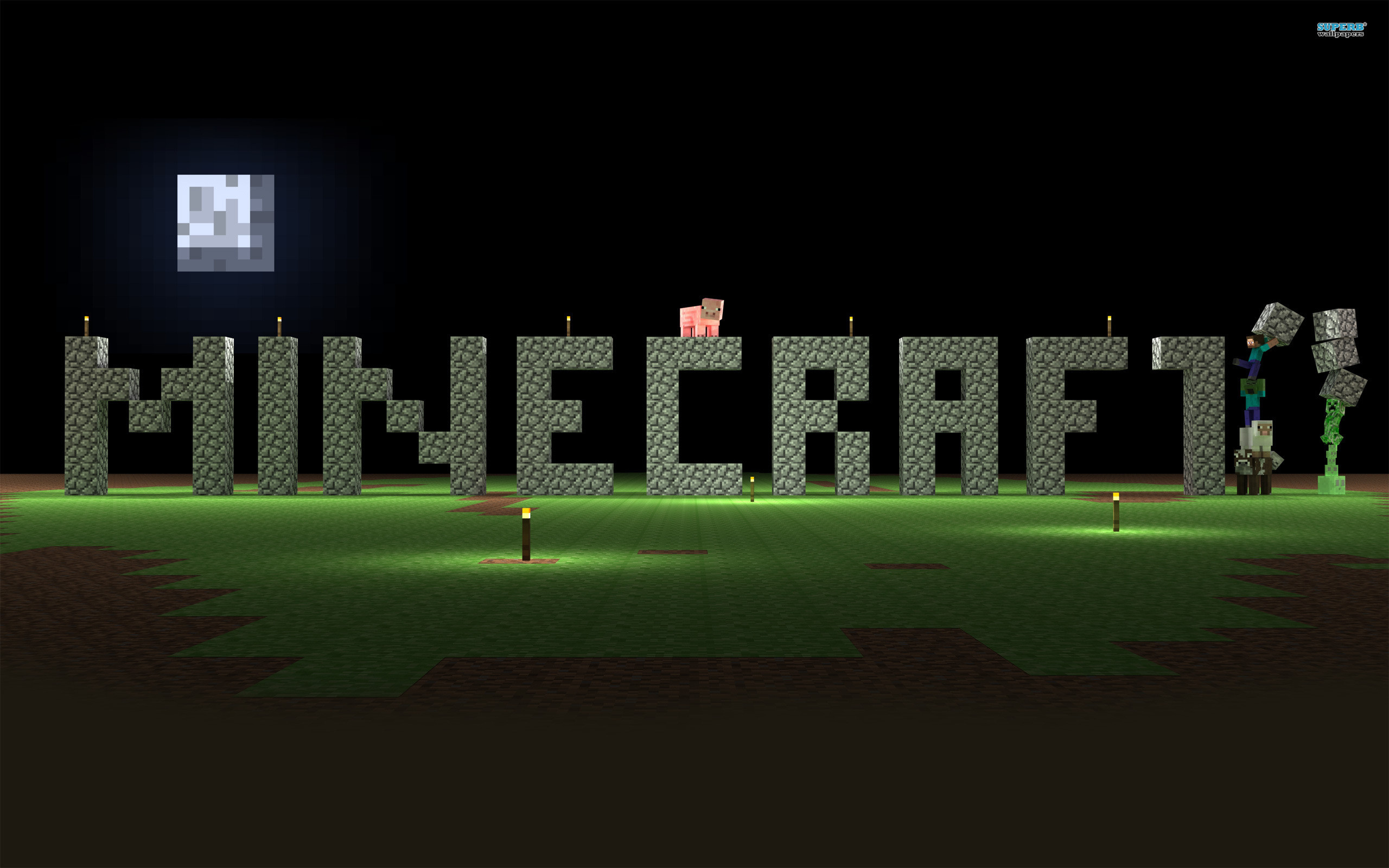 Epic Minecraft Backgrounds 72 images 2560x1600