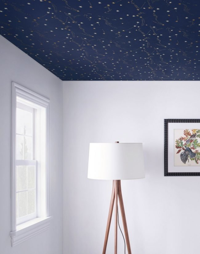 Wallpaper the Ceiling Successfully with 7 Tips   Bob Vila 650x827