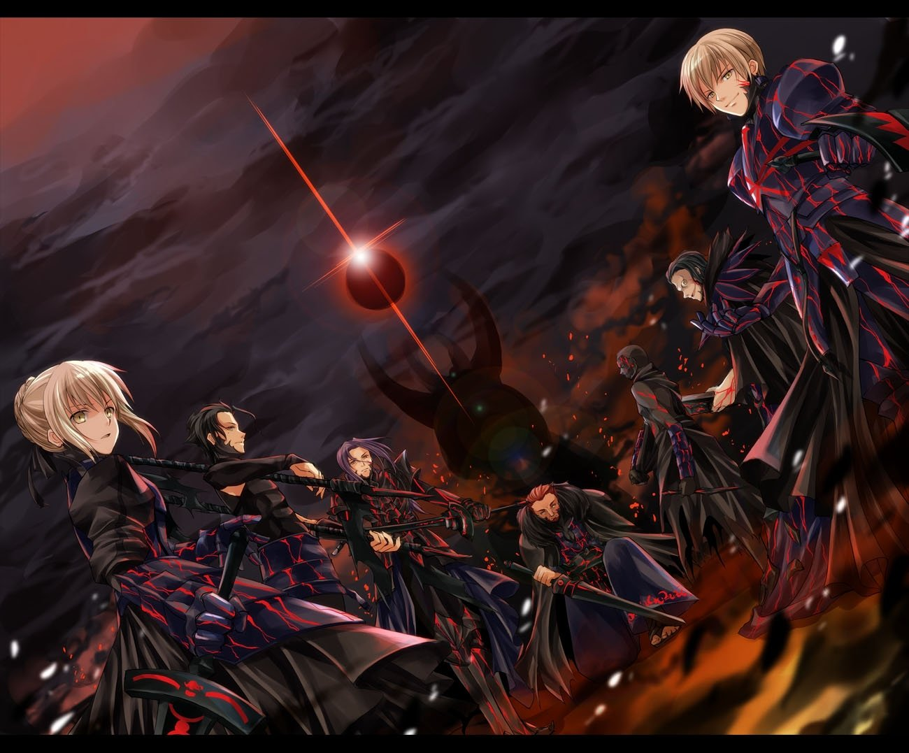 com   135503 assassin caster fate stay night fate zero gilgamesh 1300x1077