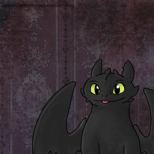 Toothless Wallpaper: Cute Toothless Wallpaper