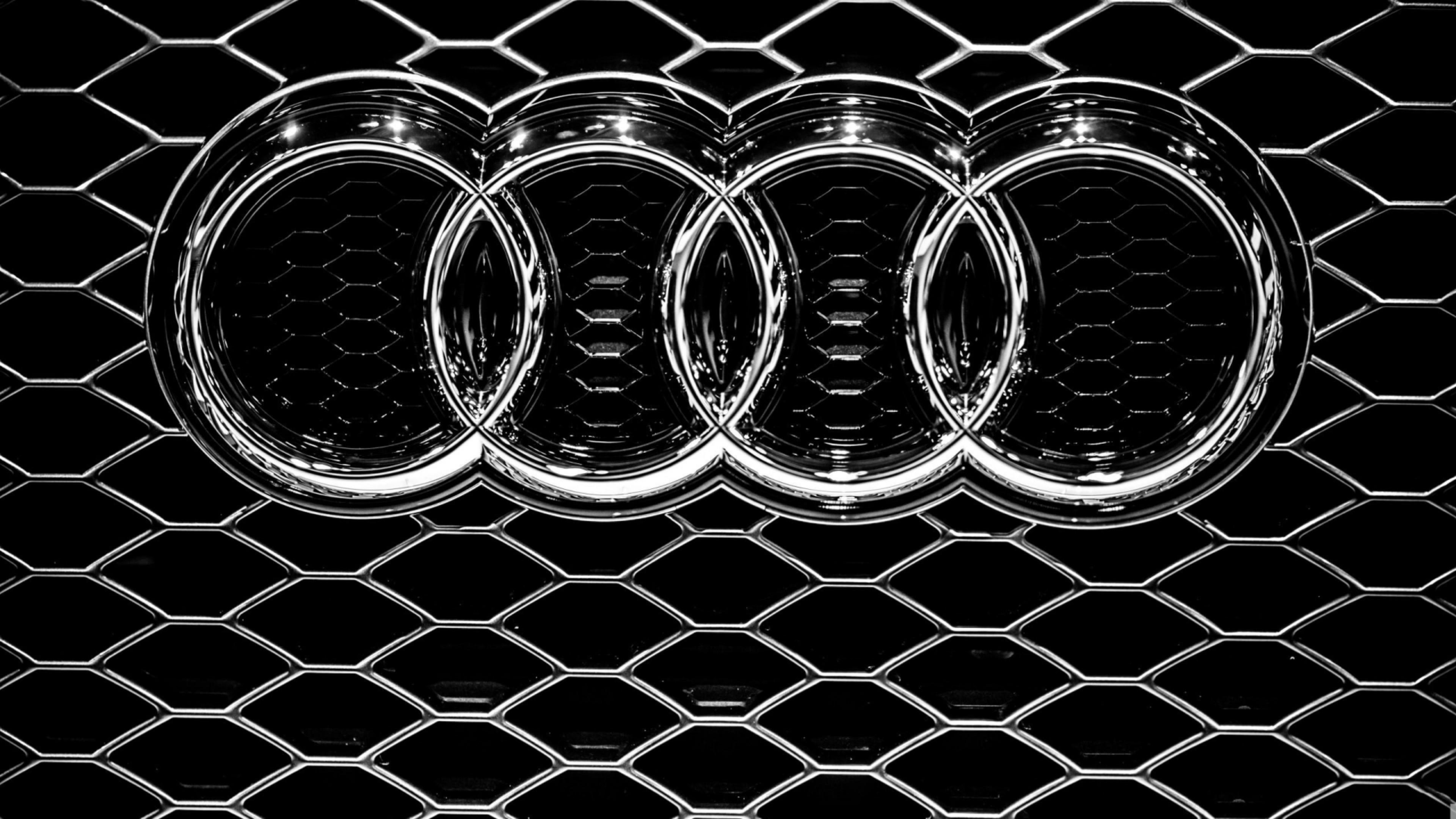 Audi Logo Wallpaper HD Wallpapers Backgrounds Images Art Photos 3840x2160