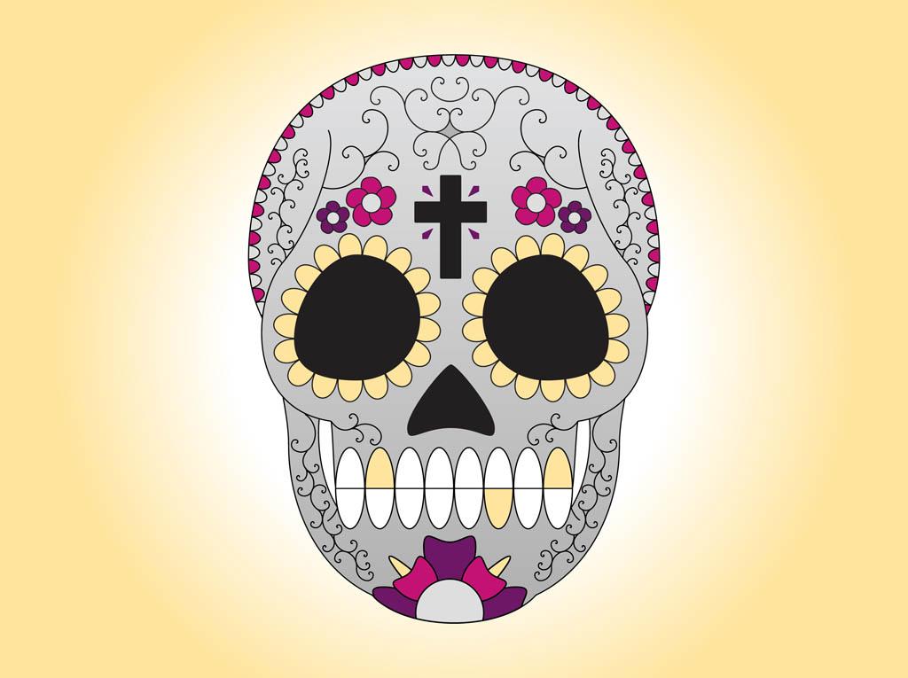 free sugar skull wallpaper wallpapersafari. Black Bedroom Furniture Sets. Home Design Ideas