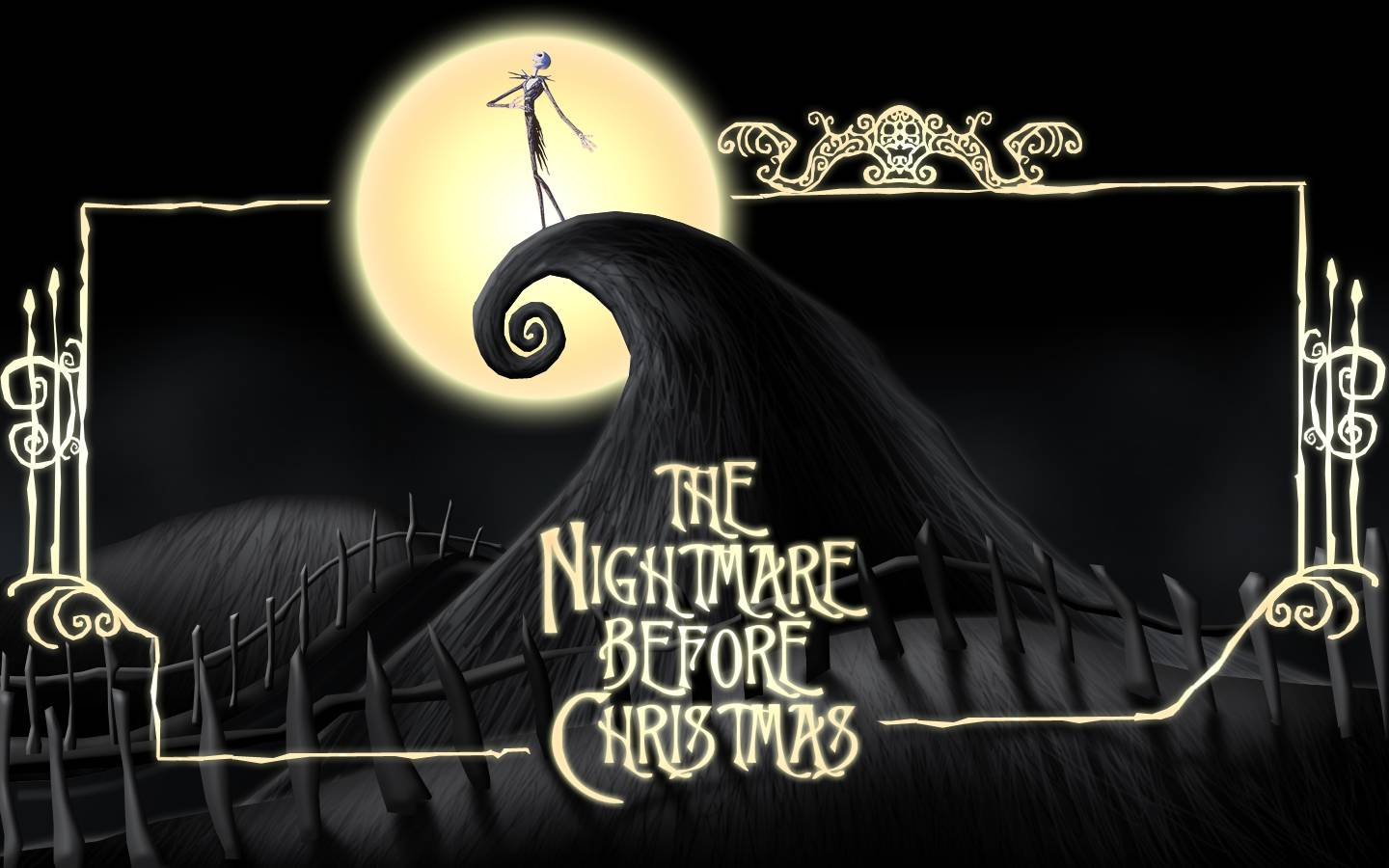nightmare before christmas Page 8 1440x900