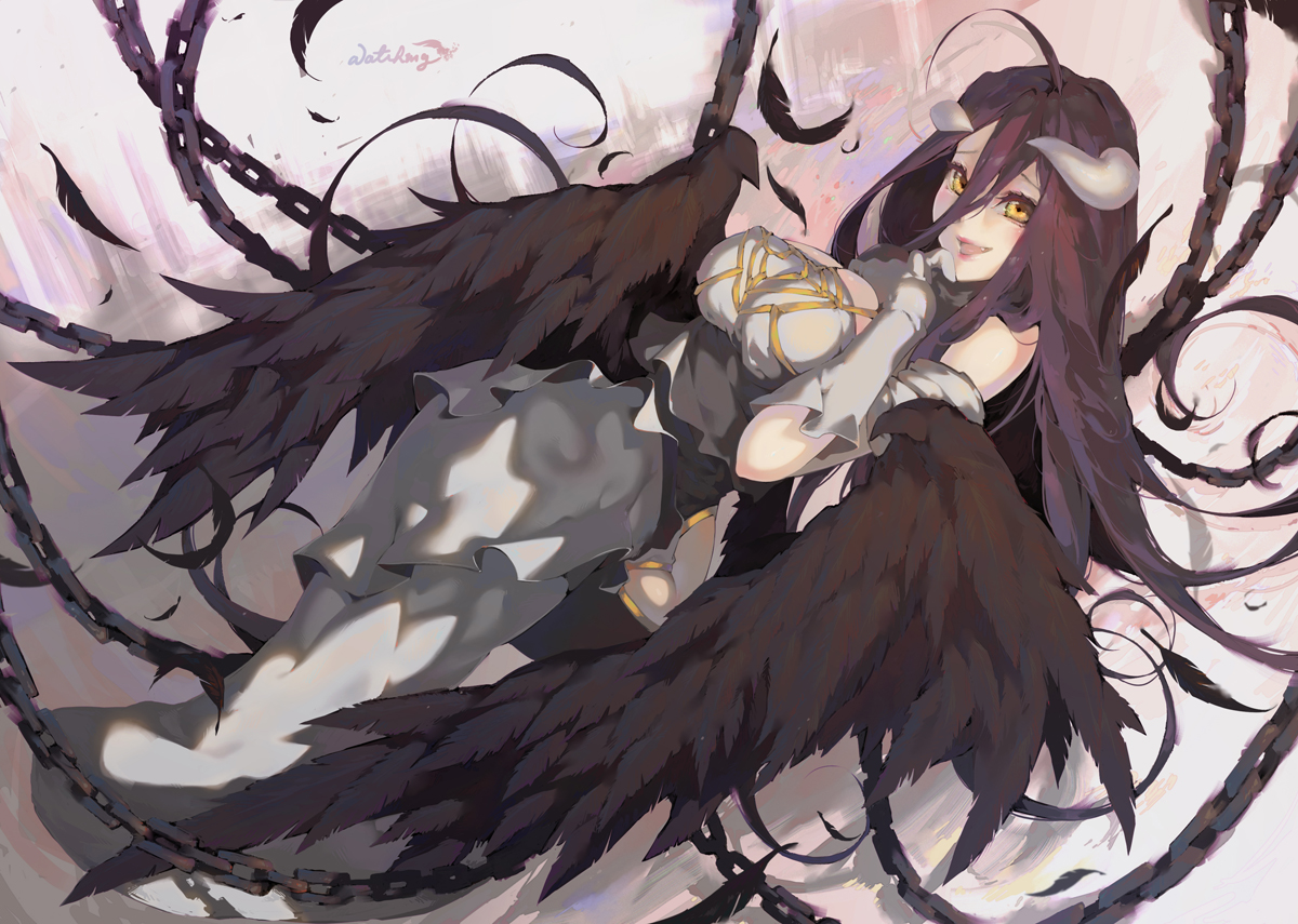 Free Download Overlord Albedo By Waterring 1200x855 For