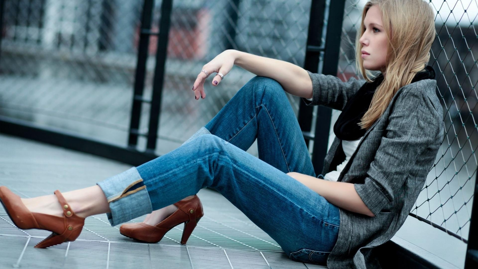 Women Fashion Jeans 2013 HD Wallpaper Women Fashion Jeans 2013 1920x1080