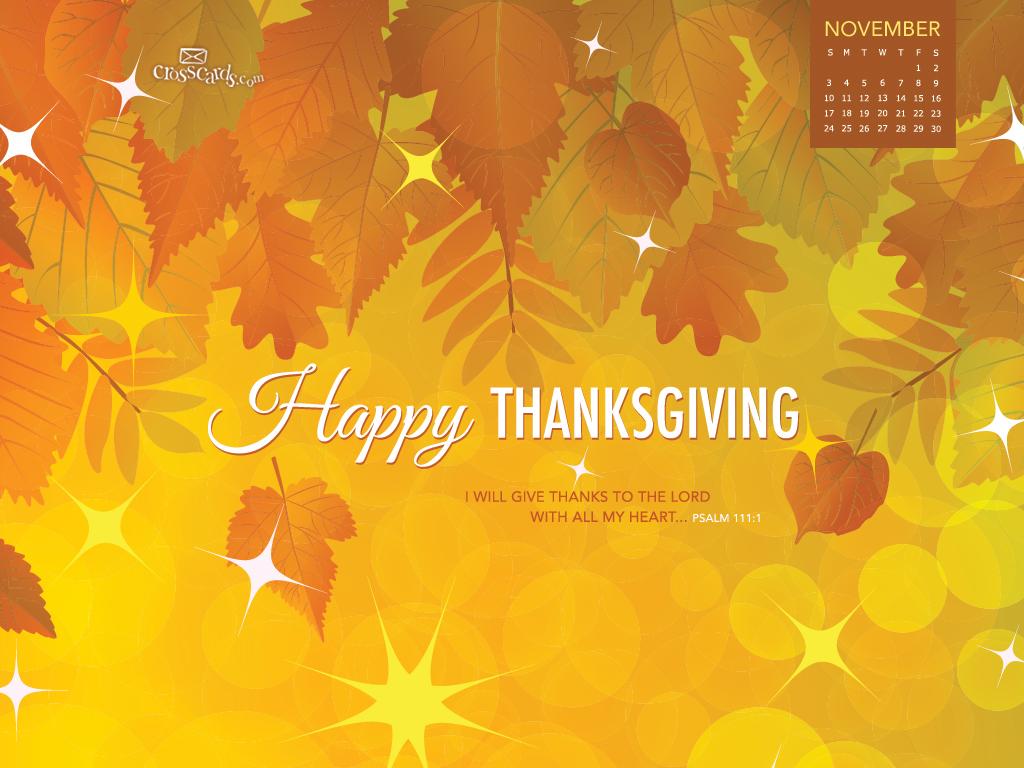 Nov 2013   Thanksgiving Wallpaper 1024x768