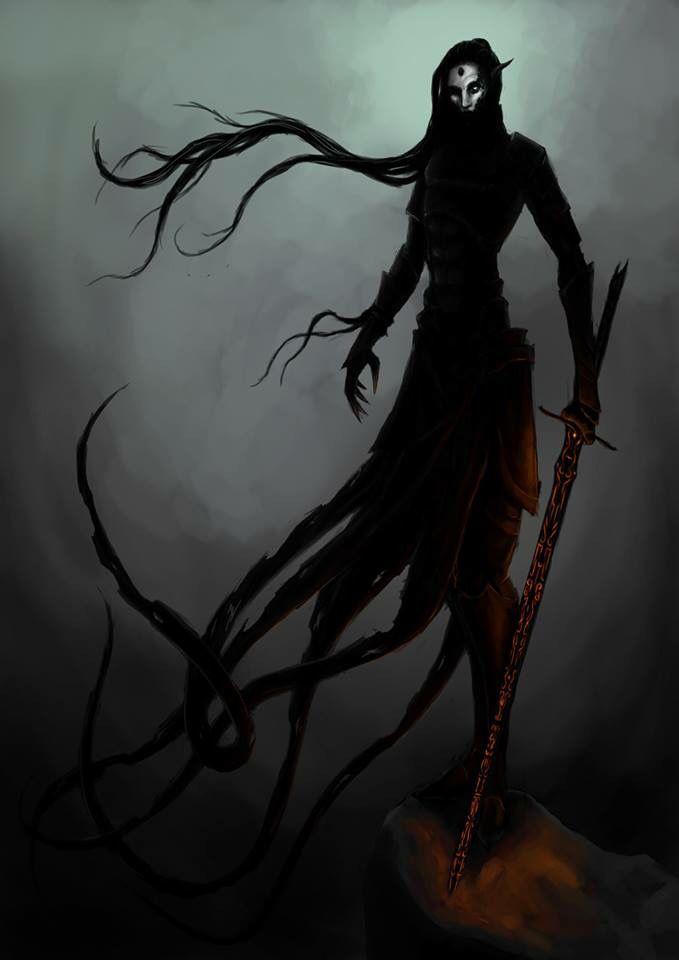 Dunmer Necromancer Elder Scrolls Artwork in 2019 Fantasy 679x960