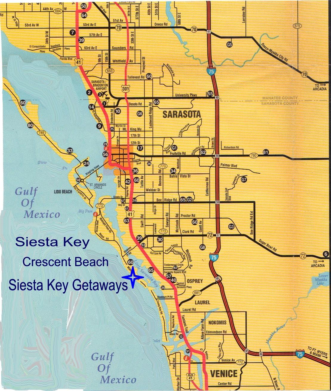 Siesta Key Florida Wallpaper WallpaperSafari - Fl map keys