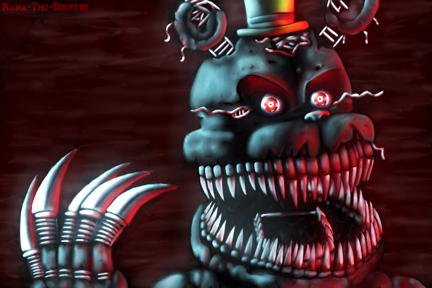 50+] FNAF Nightmare Wallpaper on WallpaperSafari