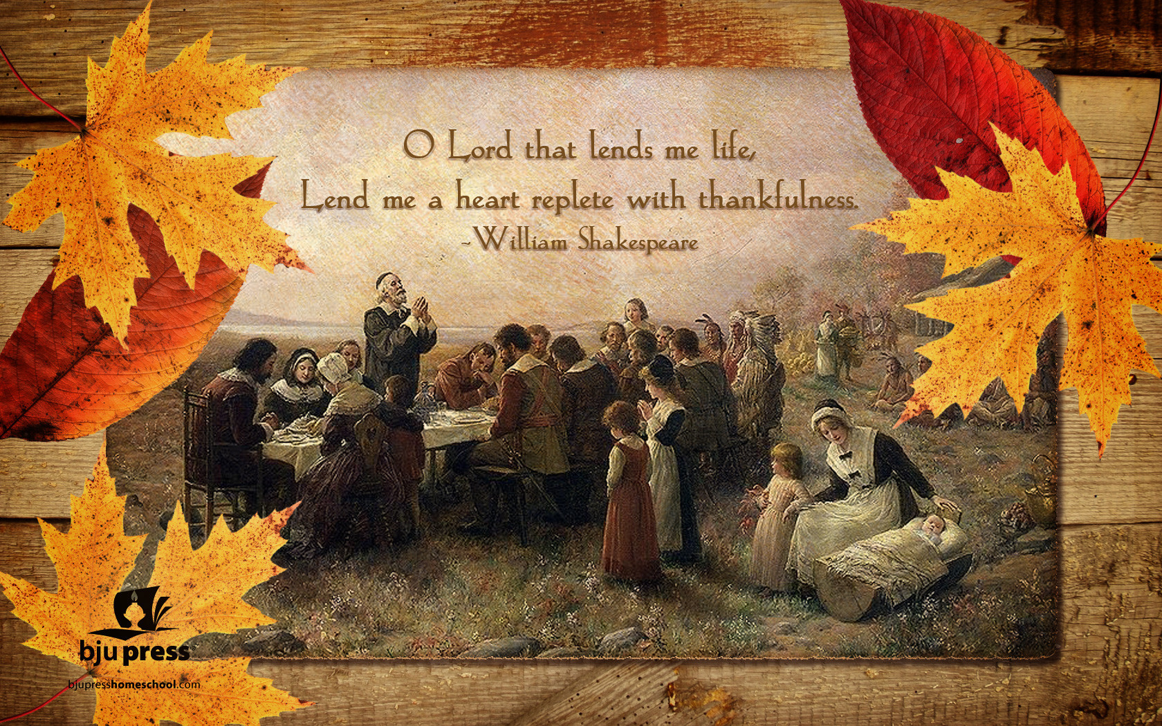 Wallpapers Thanksgiving 1680x1050