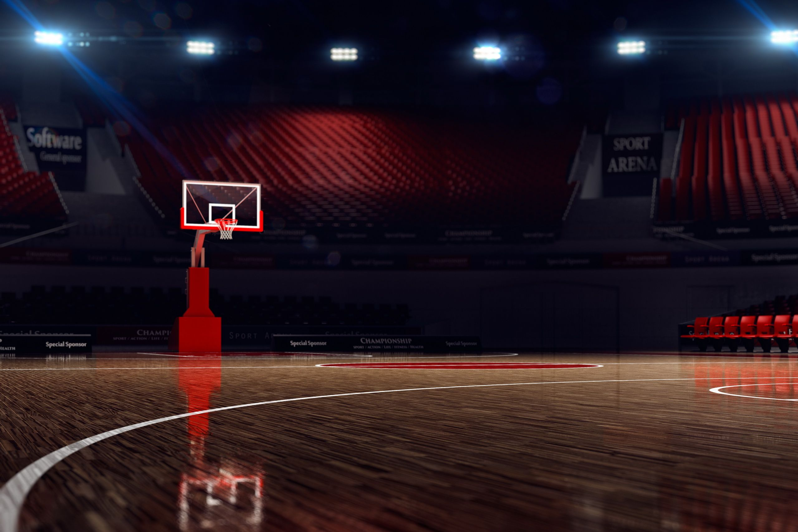 Basketball Court Wallpapers   Top Basketball Court 2560x1706