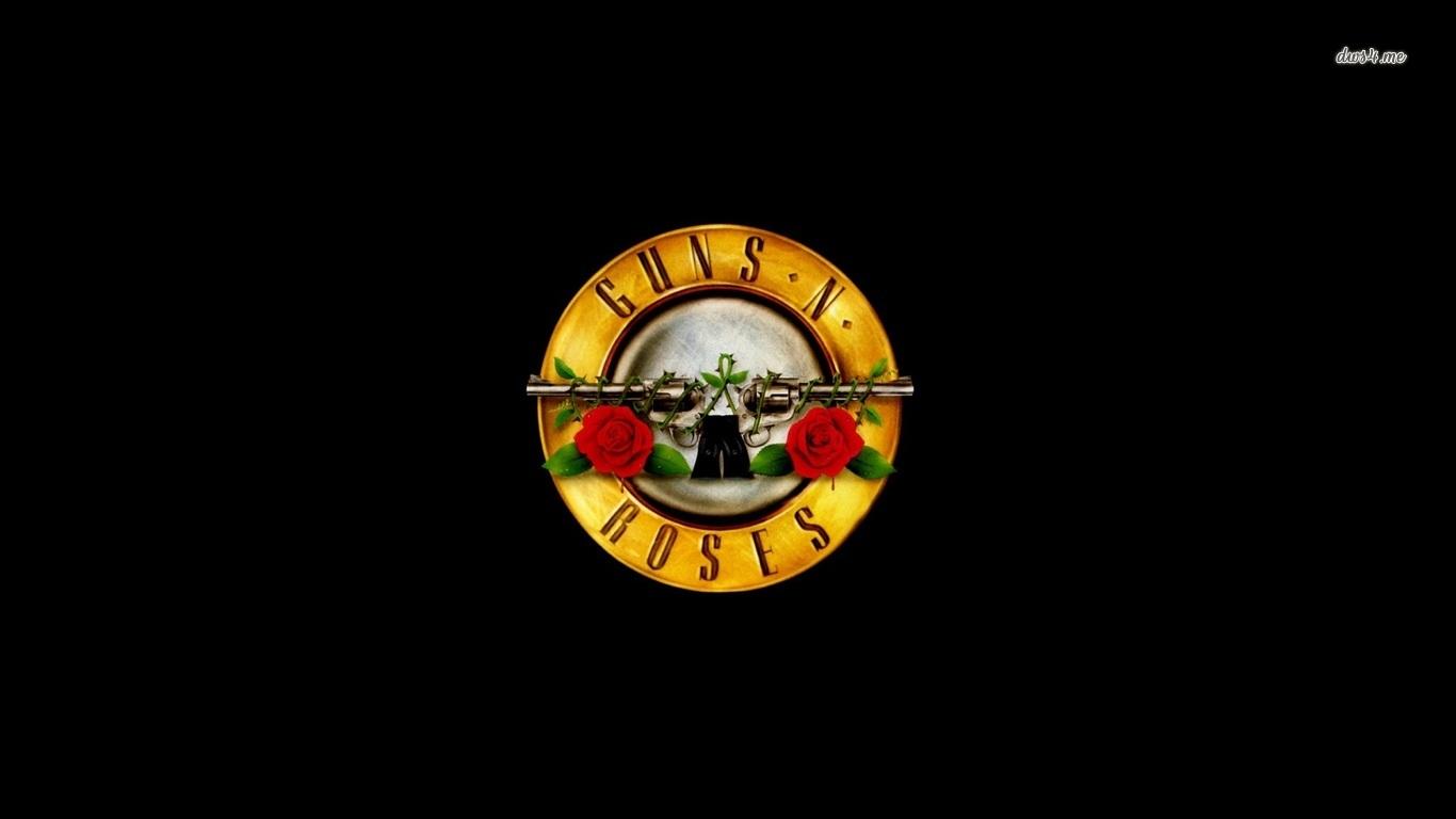 Guns N Roses logo wallpaper   Music wallpapers   48616 1366x768