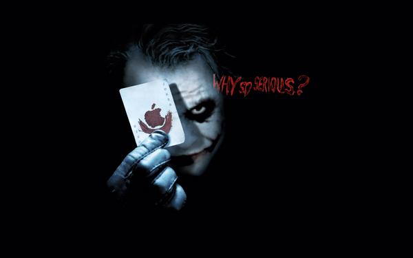Joker Apple Desktop Wallpaper by abbott567 600x375