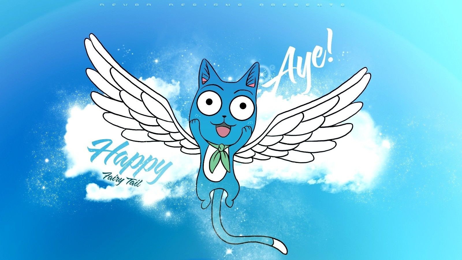Wallpapers For Fairy Tail Happy Iphone Wallpaper 1600x900