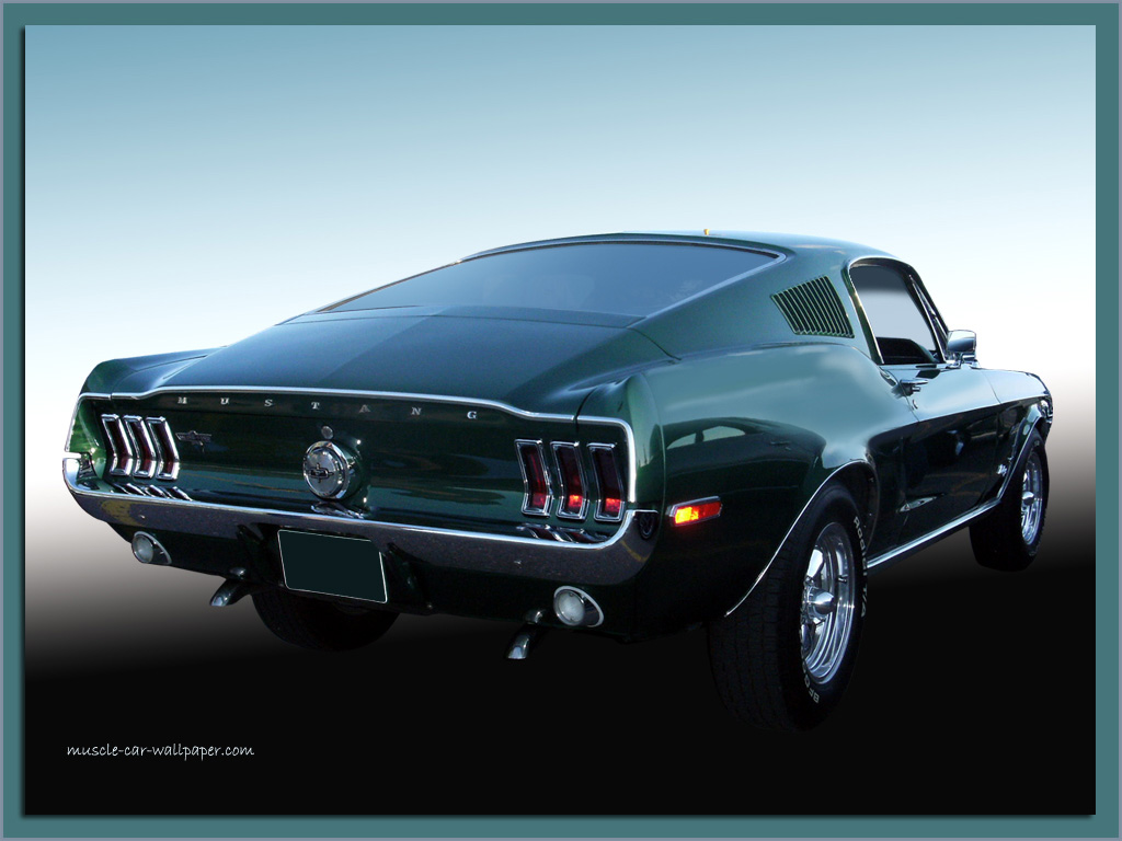Mustang Wallpaper Pictures 1968 Muscle Car Wallpaper 1024 07 1024x768