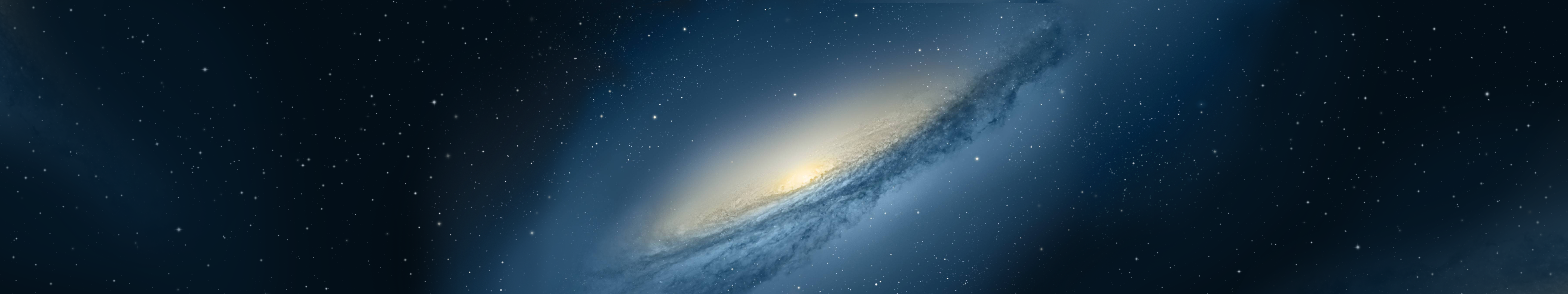 galaxy with triple monitor support by drojden customization wallpaper 5760x1080