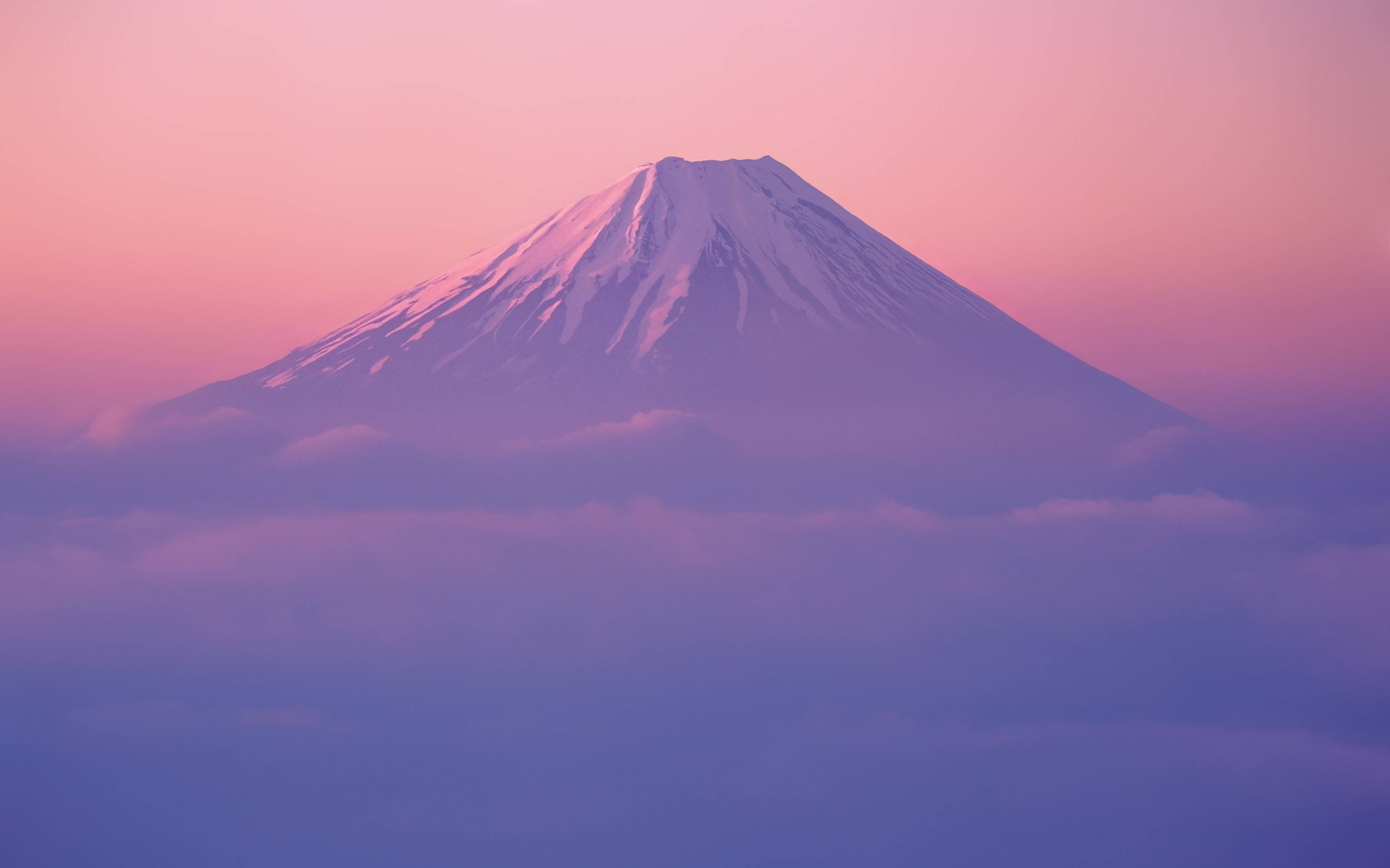 has a new version of the default mt fuji wallpaper the new picture 3200x2000