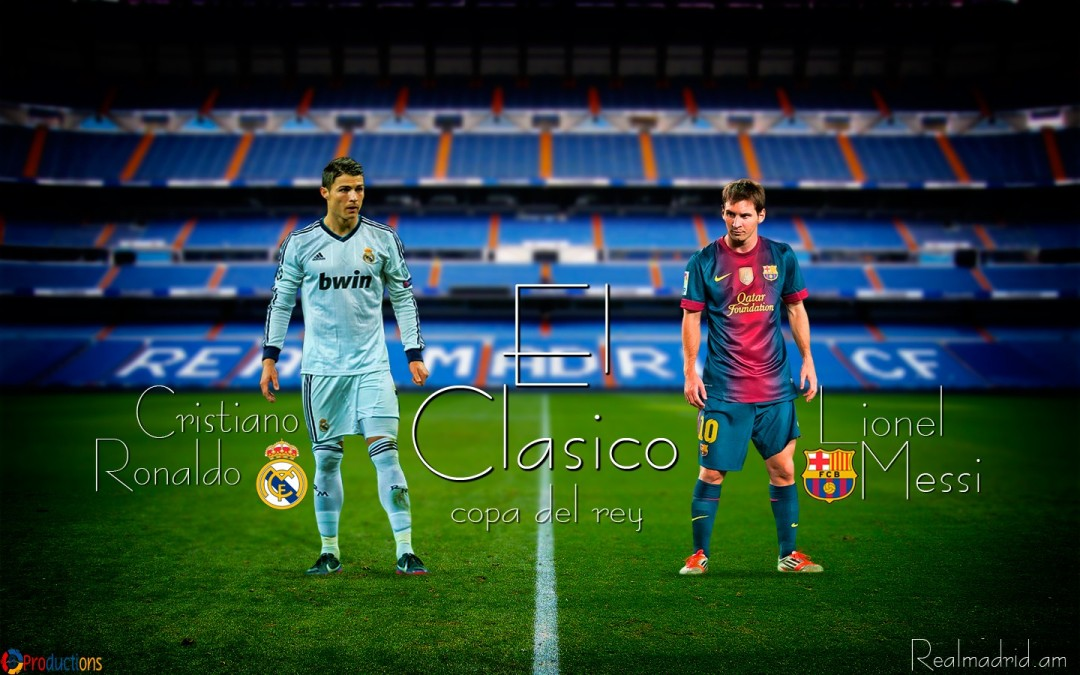 Real Madrid vs Barcelona 2013 HD Wallpaper HD Wallpaper of 1080x675