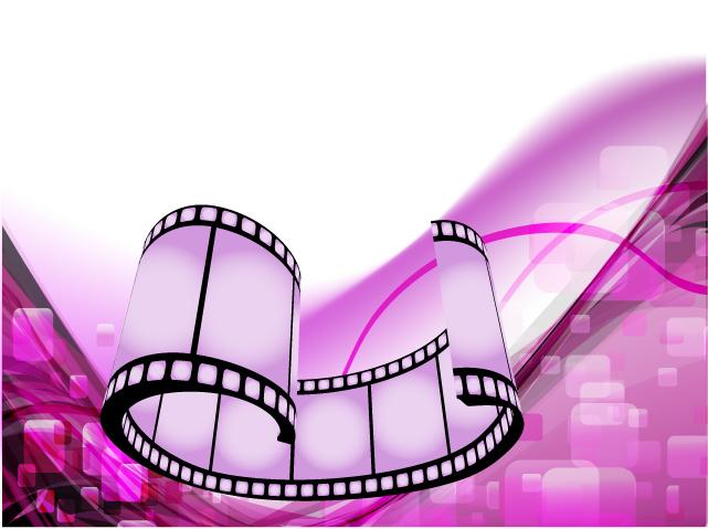 Movie theme vector background Vector 4Vector 641x479