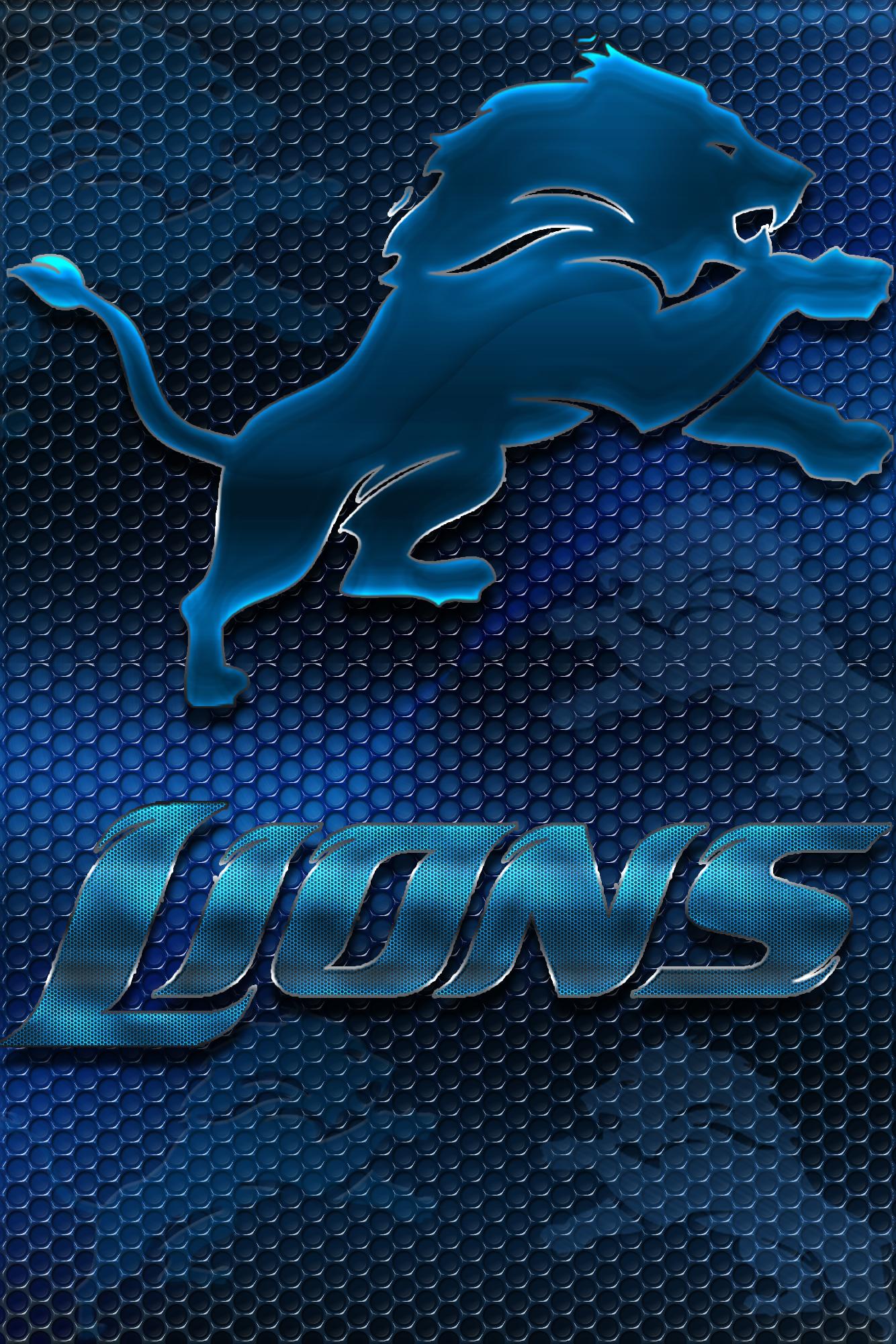 Detroit Lions 2012 Heavy Metal Wallpaper Download Wallpaper 1334x2000