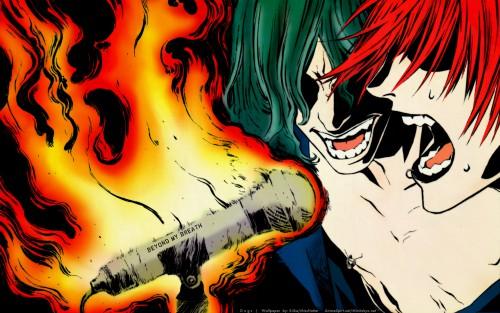 Miwa Shirow Mangaka Dogs Bullets and Carnage Series 500x313