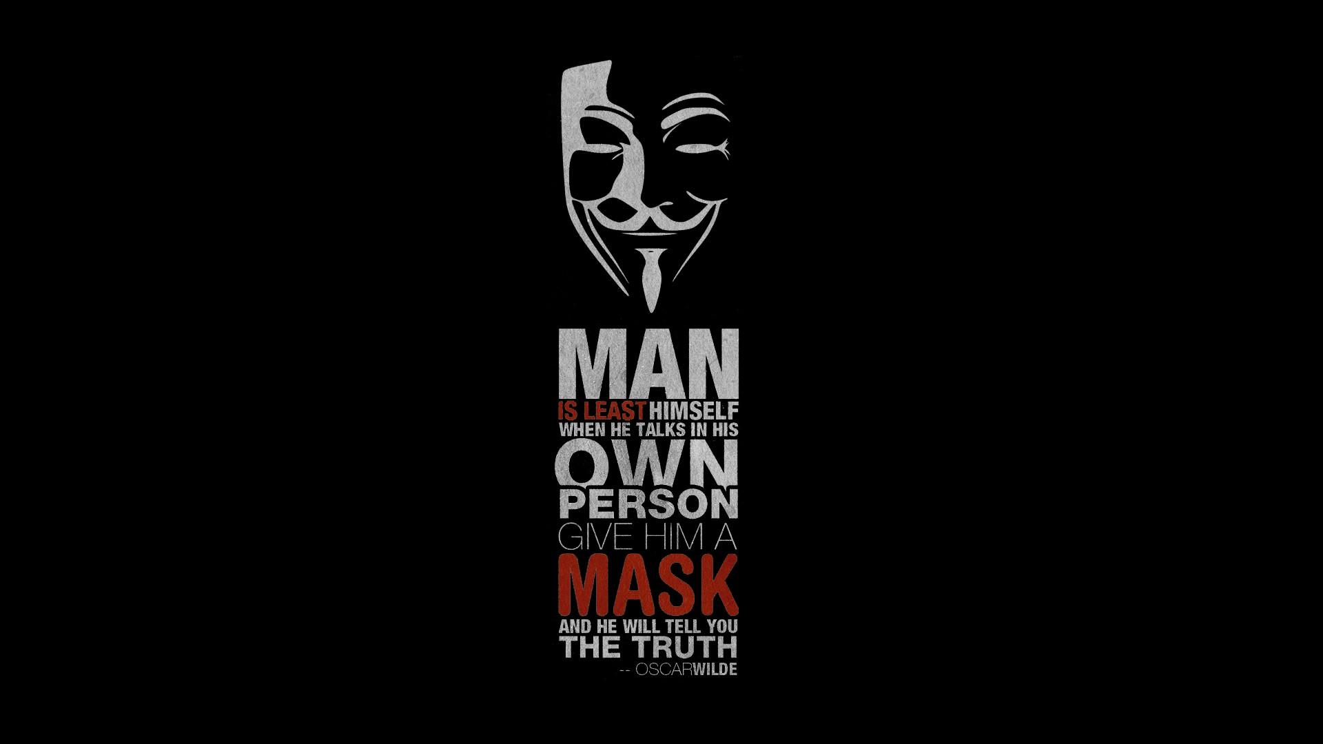 Anonymous Wallpaper 1920x1080