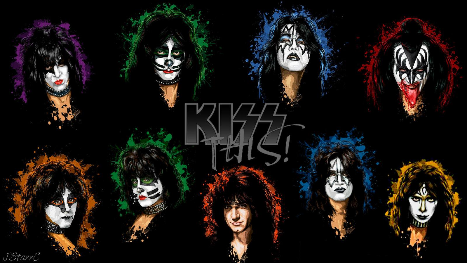 KISS   KISS Wallpaper 39156874 1600x900
