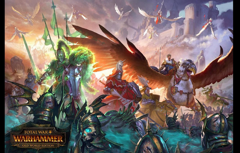 Wallpaper warhammer empire total war bretonnia old world 1332x850