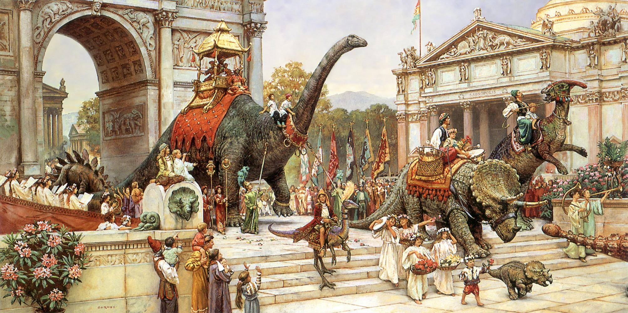 Dinotopia A Land Apart From Time James Gurney 1992   Imgur 2006x1000