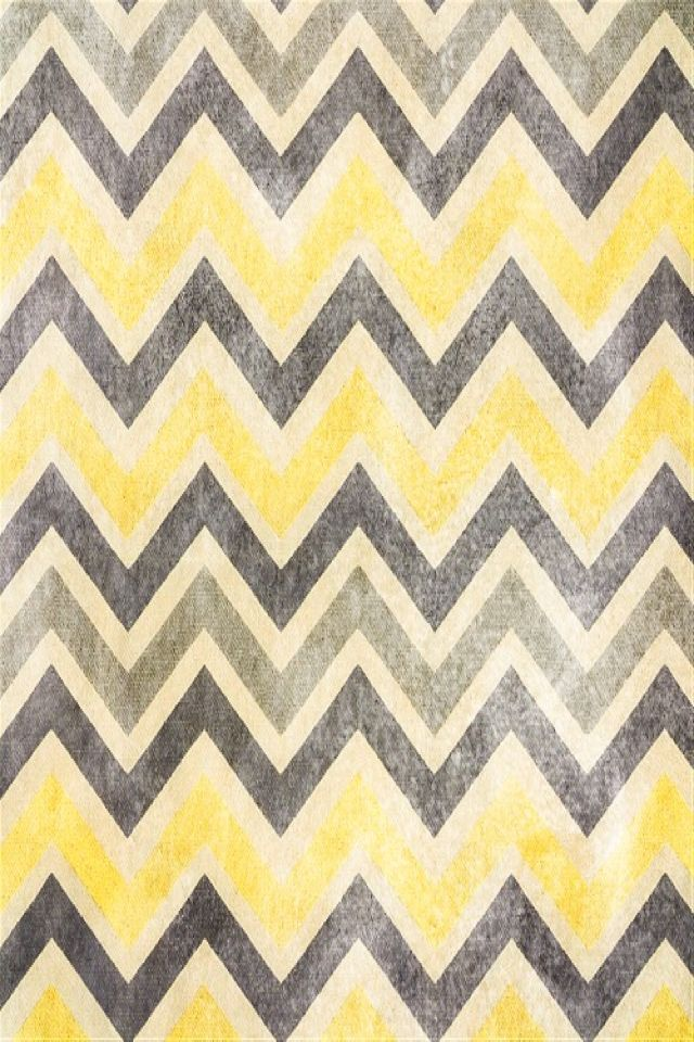 Yellow chevron Phone Background Pinterest 640x960