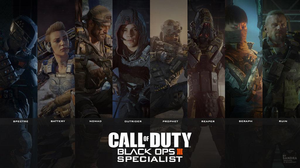 48 Black Ops 3 Specialist Wallpaper On Wallpapersafari