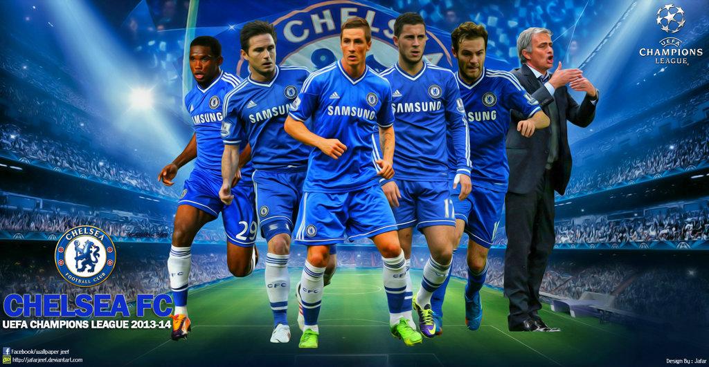 Chelsea Champions League Wallpaper by jafarjeef 1024x531