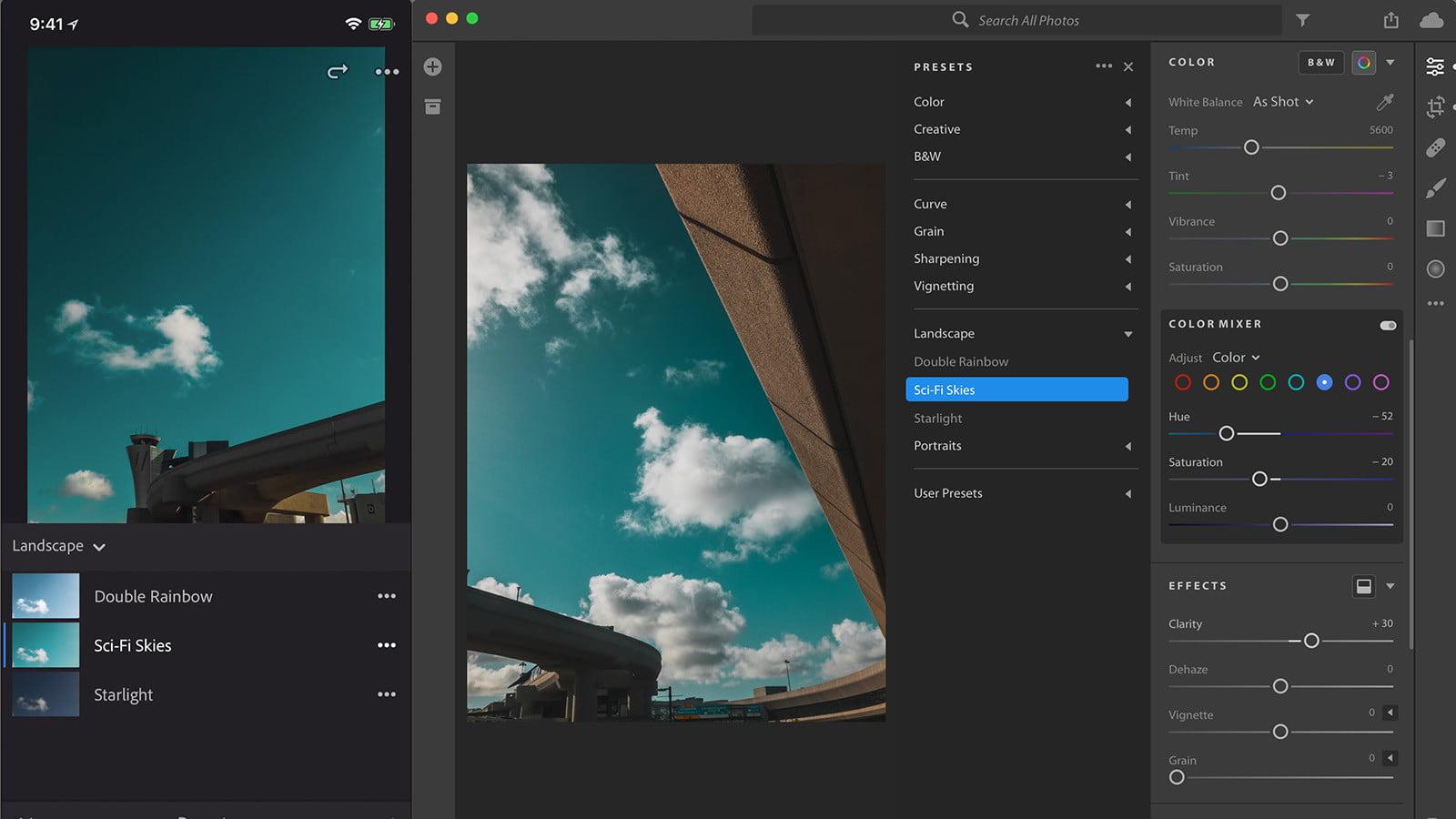 Lightroom CC Gets Synced Presets on Mobile Batch Editing on Desktop 1600x900