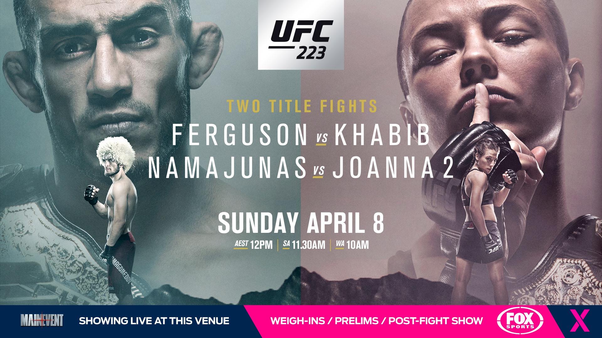 UFC 223 Ferguson vs Khabib   The Phoenix Hotel 1920x1080